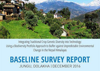 Baseline Survey Report, Jungu, Dolakha