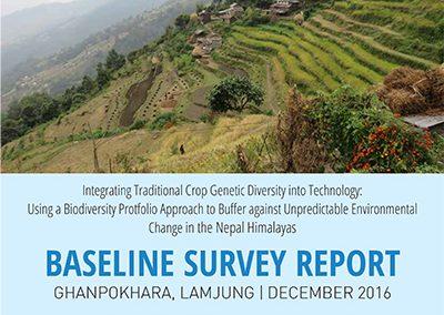 Baseline Survey Report, Ghanapokhara, Lamjung